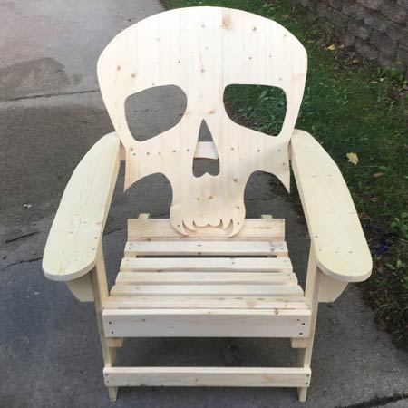 Ed's Outdoor Furniture - Skull Chair