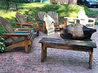 Ed's Outdoor Furniture - Stained Work